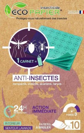 Anti Insectes Naturel Papier Use Once Art De La Table